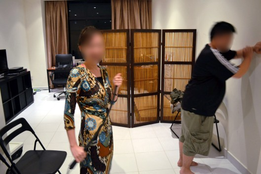 Singapore BDSM Canning and Whipping